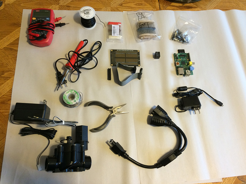 Most of the components